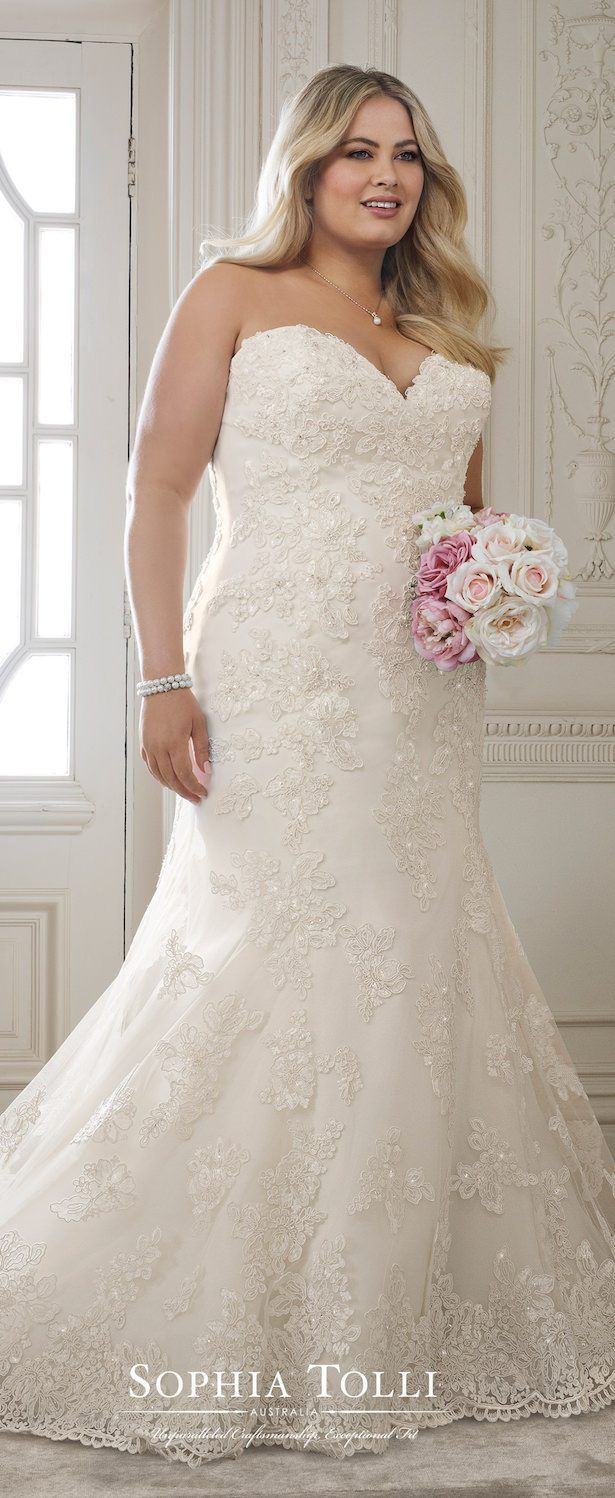 Plus size perfection from sophia tolli one day pinterest