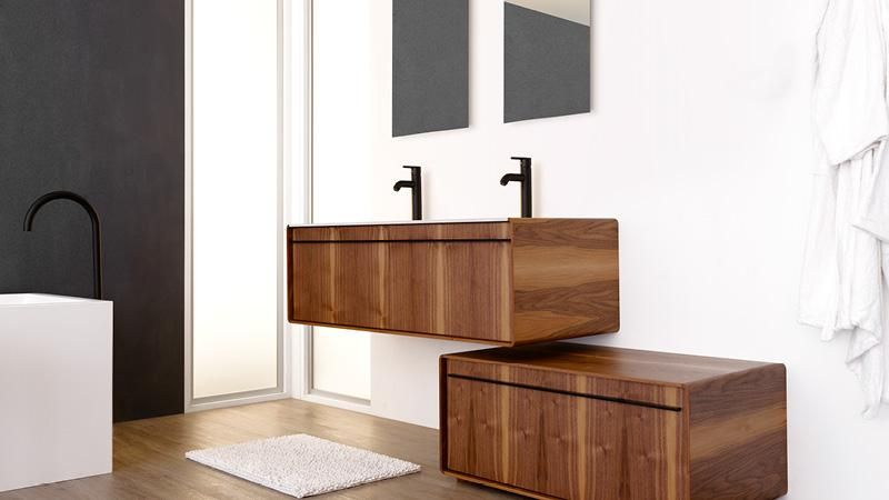 Deco Collection Freestanding Vanity Wetstyle Haight Small