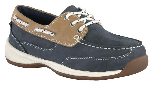 f32eaaa6d0e Rockport Works Sailing Club Women's Steel Toe Boat Shoe RK670 | New ...