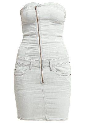 NEW LYNN - Denim dress - slander kit
