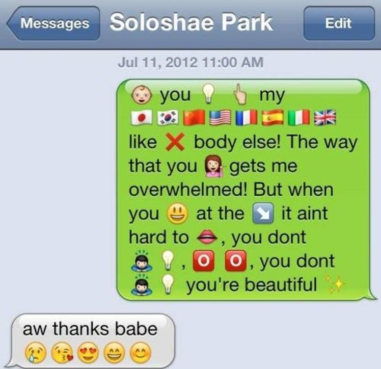 16 Song Lyrics Cleverly Translated Into Emoji Text
