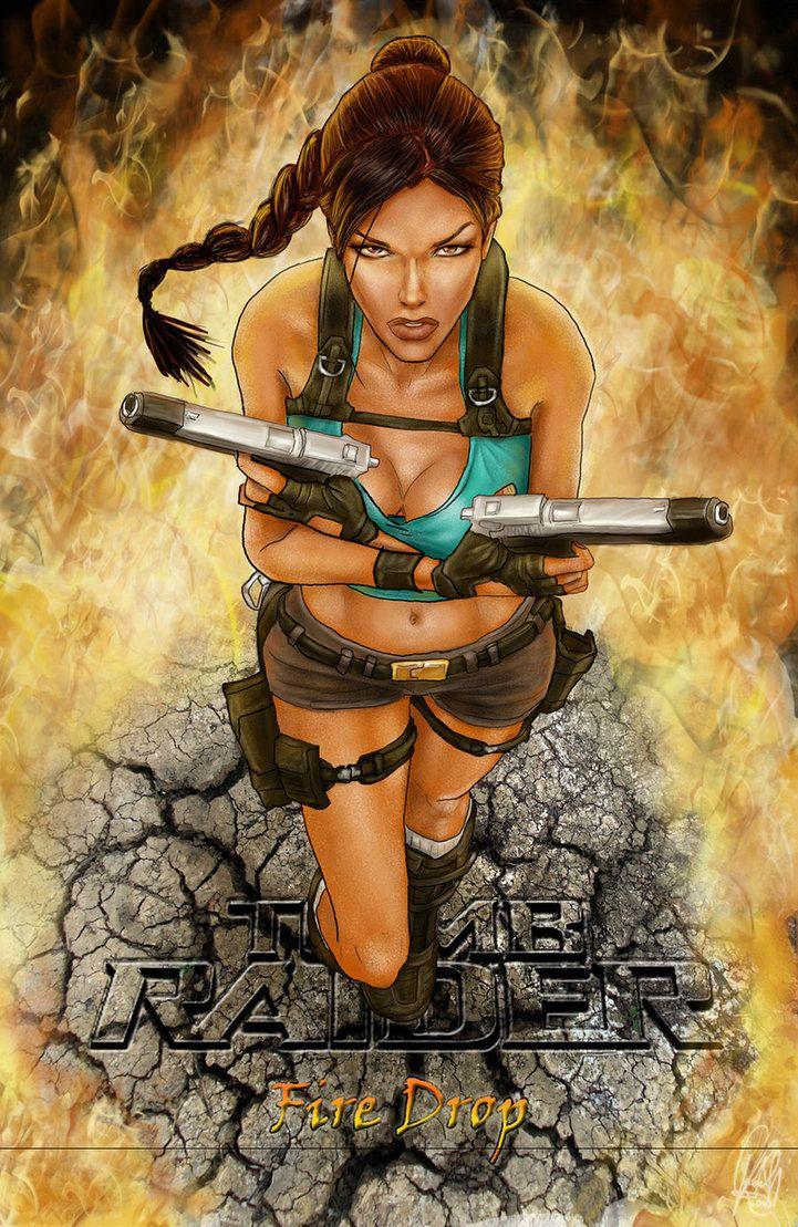 Tomb Raider Fire Drop Cover By Nightwish666 On Deviantart
