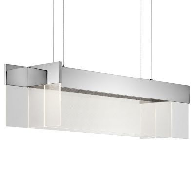 Geo led linear suspension by elan lighting