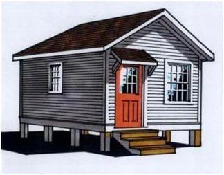 30 Free Cabin Plans For Diy Ers Budget101 Com Small Cabin Plans House Blueprints Cottage Plan