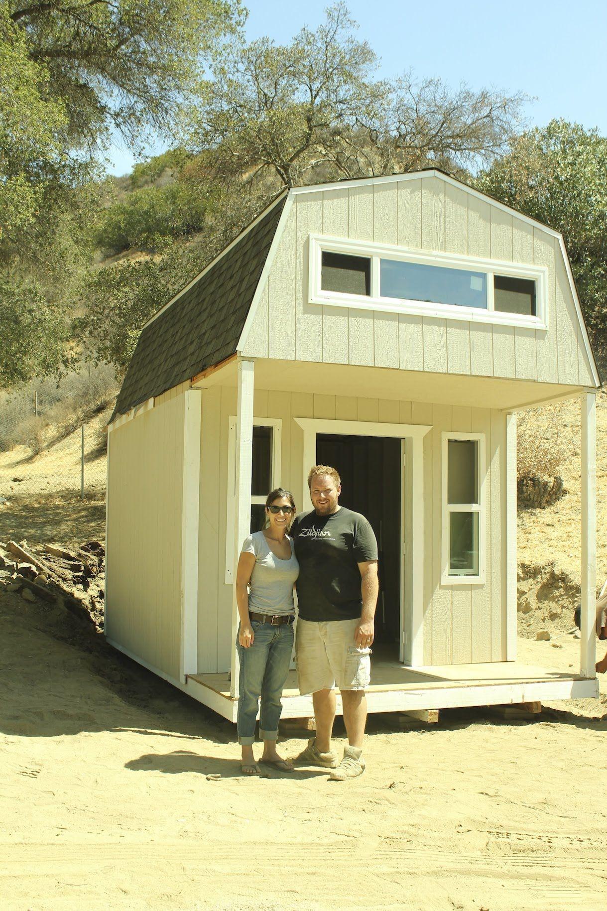 Tiny home for family of 5 - Family Of 5 850 Sq Ft Tiny House Sliding Bathroom Door