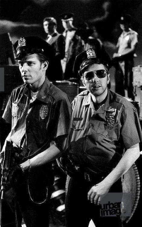 Paul and Joe: 1986 Big Audio Dynamite Medicine Show Video Shoot.