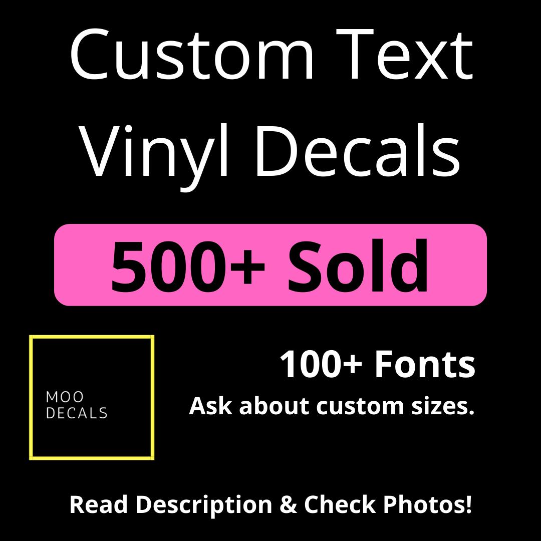 Custom Logo Vinyl Stickers Branding Stickers Stickeryou