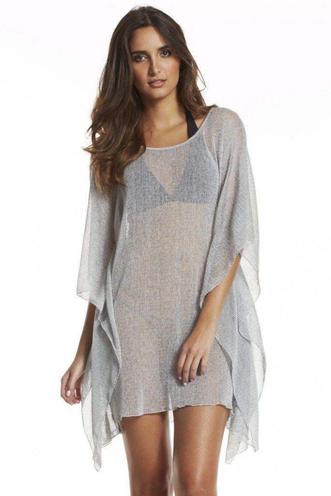 1afc409d756d0 Elan Gray Coverup Dress #elan #beachwear #resort wear Summer Vacation  Outfits, Vacation