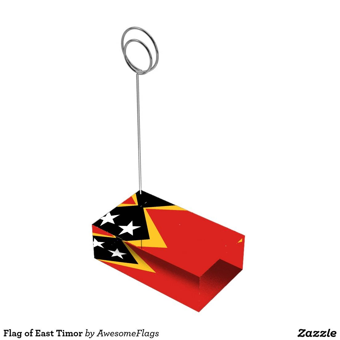 Flag of East Timor Table Card Holders