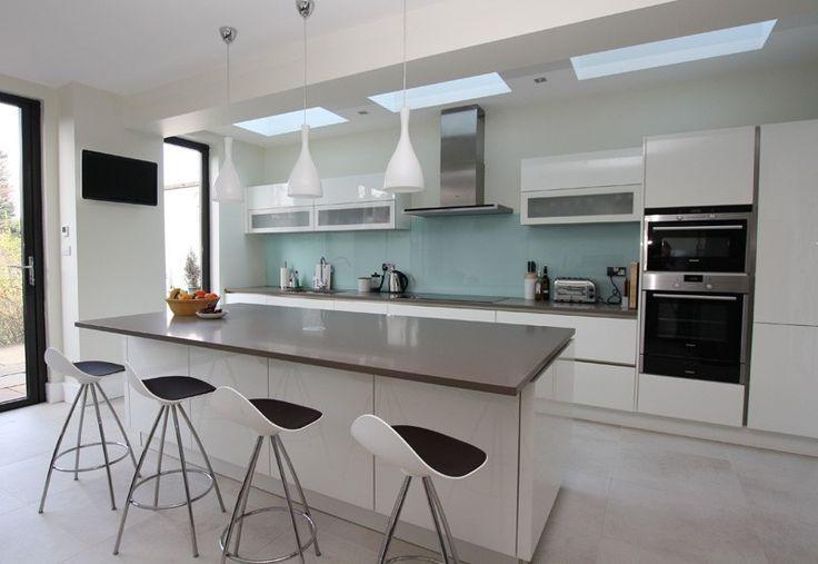 nice Idée relooking cuisine - Island Kitchens LWK Kitchens London - meuble de cuisine gris anthracite