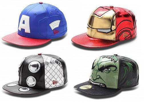 Avengers hats by New Era. http   www.theblotsays.com  ee0b85a82