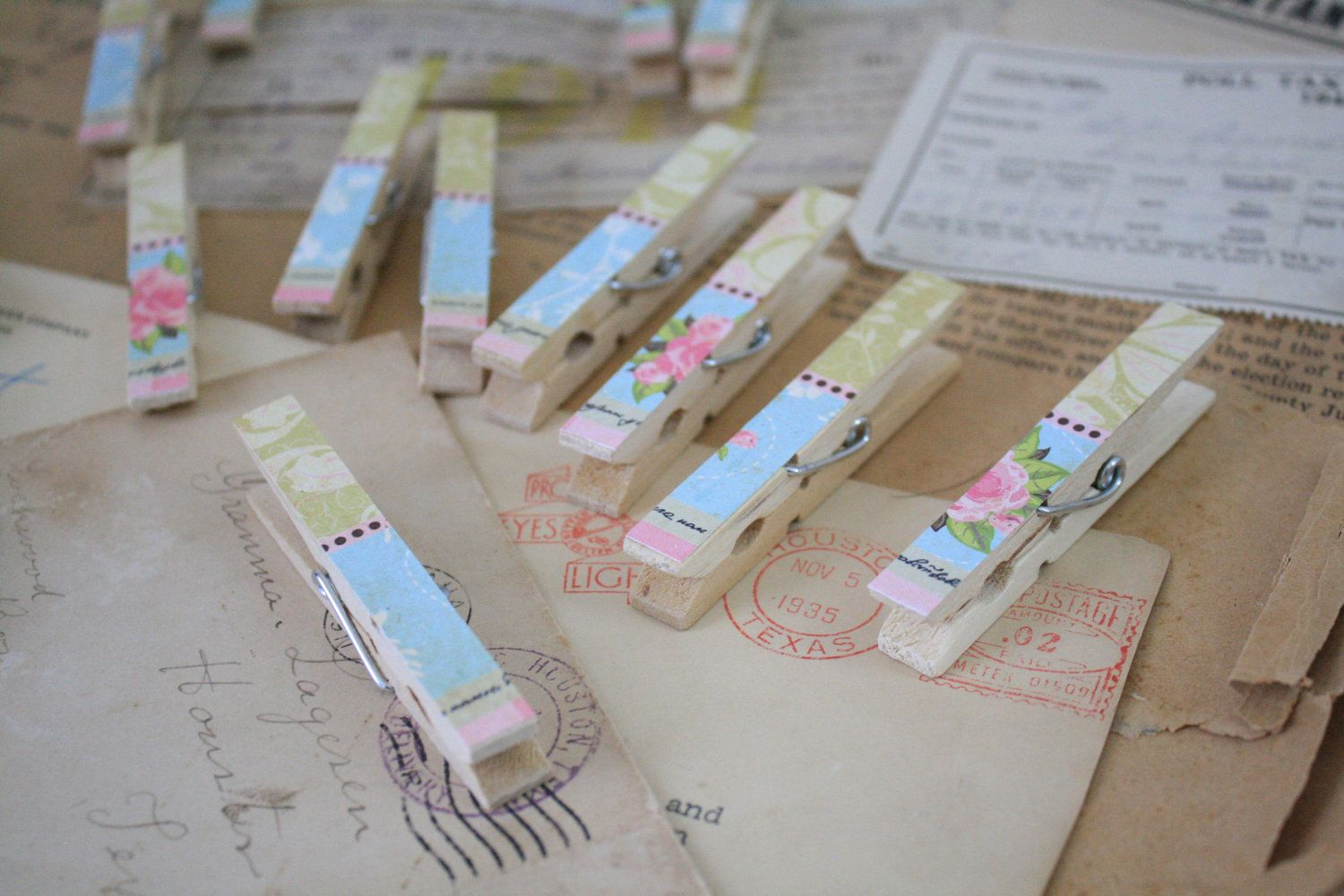 Dainty Pink Clothespin.