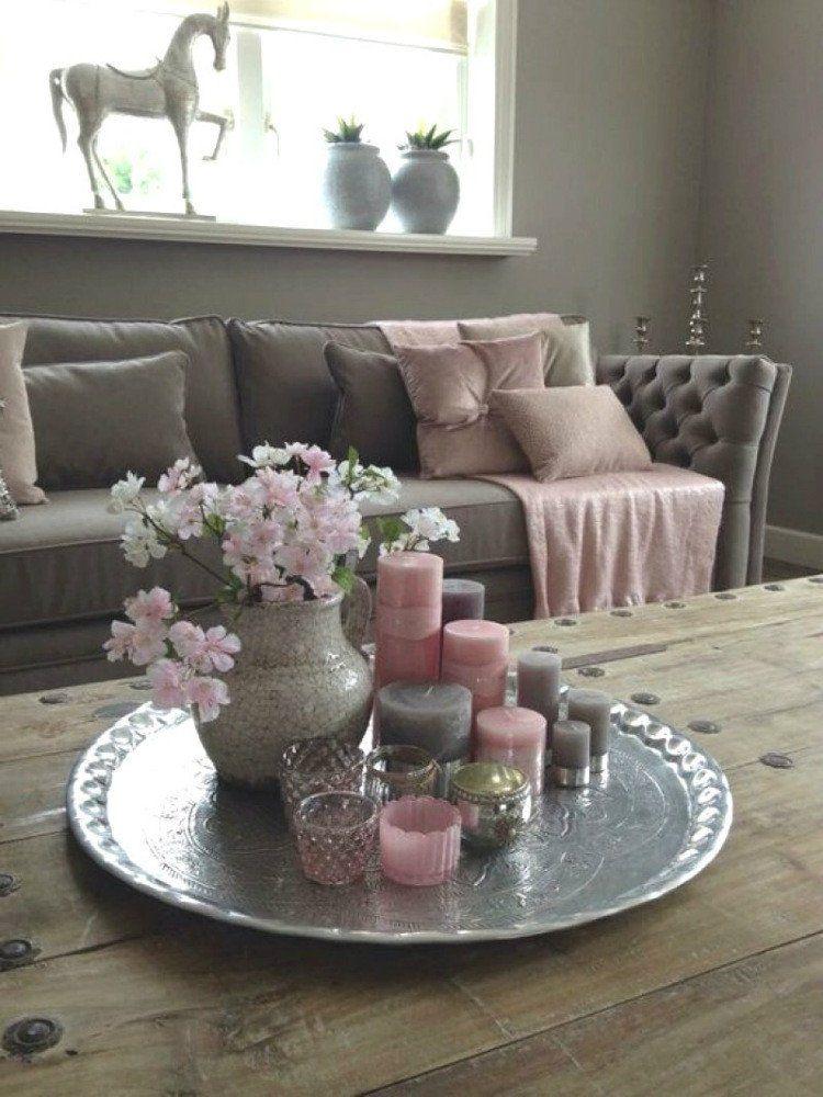 living room center table decor 5