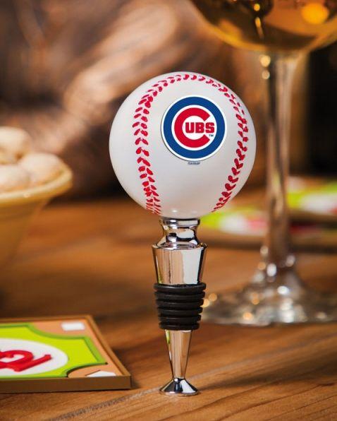 Resin Baseball Stopper - Chicago Cubs ($19.95)