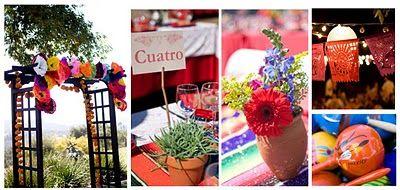 Flores para tu Boda y Decoración Floral - Idea Floral: Una boda orgullosamente Mexicana
