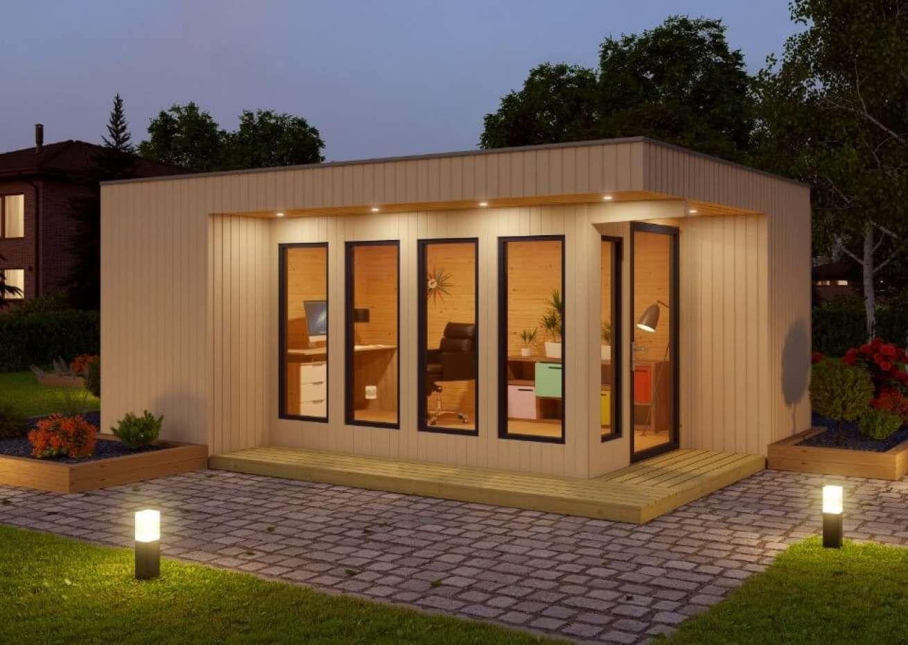 HomeOffice Nr.2 in 2020 Design gartenhaus, Hinterhof