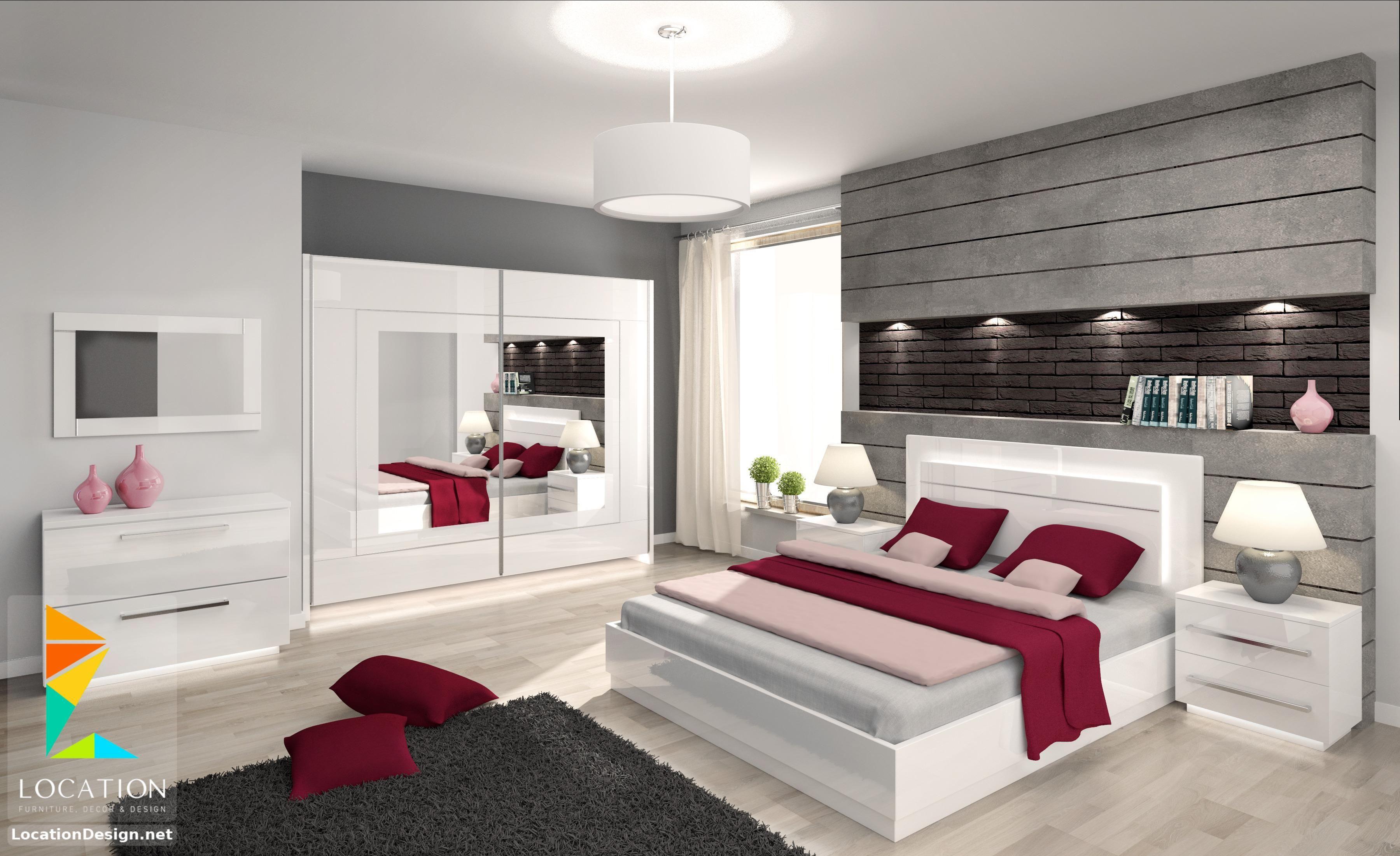 اشكال غرف نوم كاملة بالدولاب جرار 2019 2020 لوكشين ديزين نت Cheap Modern Furniture Bedroom Interior Bedroom