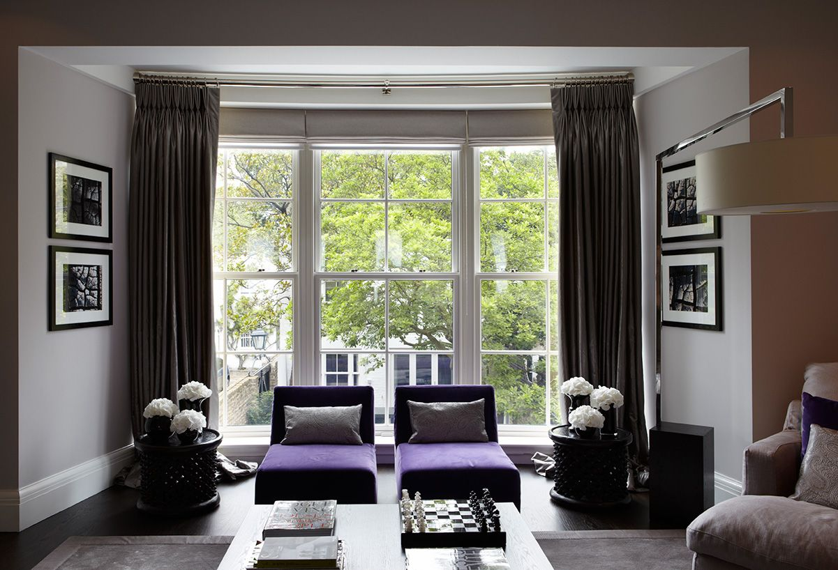 Interior Design Living Room Uk Private Residence Chelsea Townhouse London Fiona Barratt