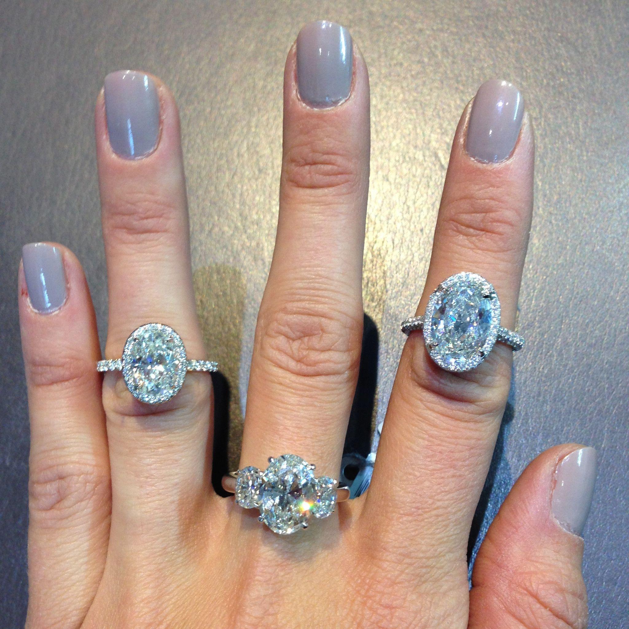 Oval Diamond Ring Gallery – Stephanie Gottlieb Fine Jewelry