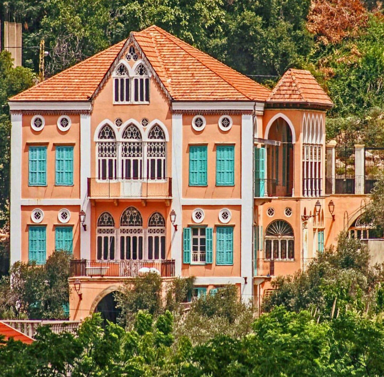 A majestic traditional Lebanese house