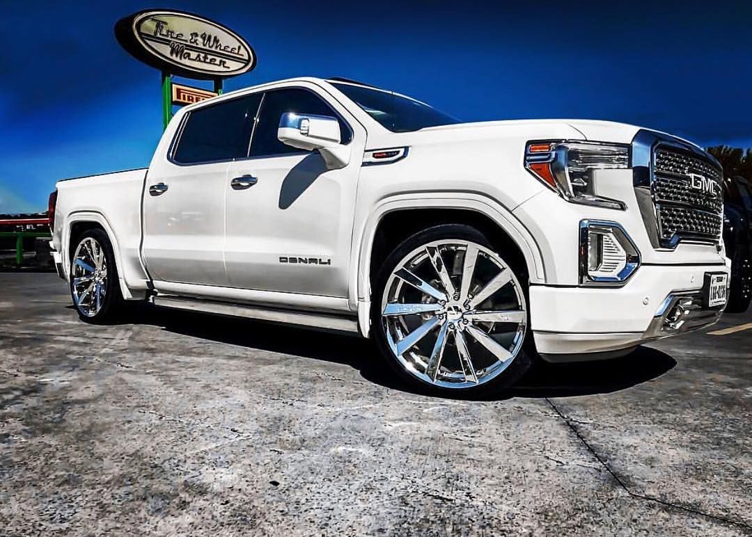 2019 Denali On 26s Droppedcrewcabs Gmc Trucks Dropped