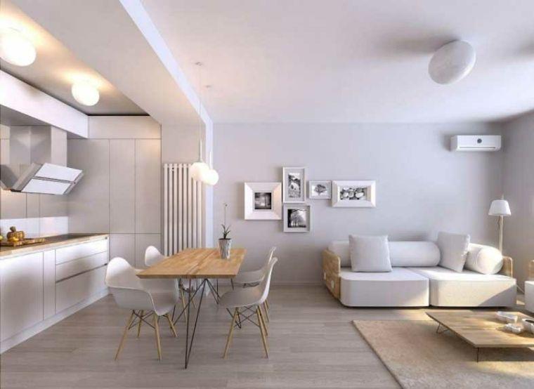 Salones en blanco - descubra los 100 interiores más modernos ...