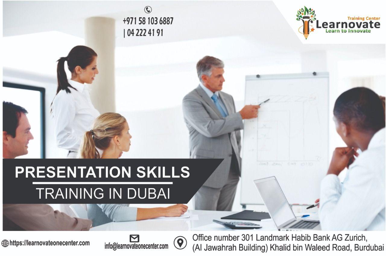Presentation Skills Training In Dubai Presentation Skills Training Presentation Skills Skill Training
