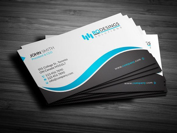 Corporate Business Card 12 Printing Business Cards Corporate Business Card Business Card Layout Templates