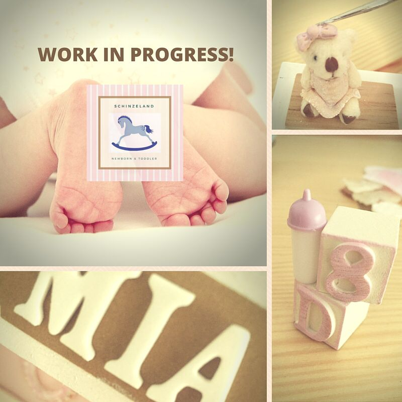 Working on Mia's project!