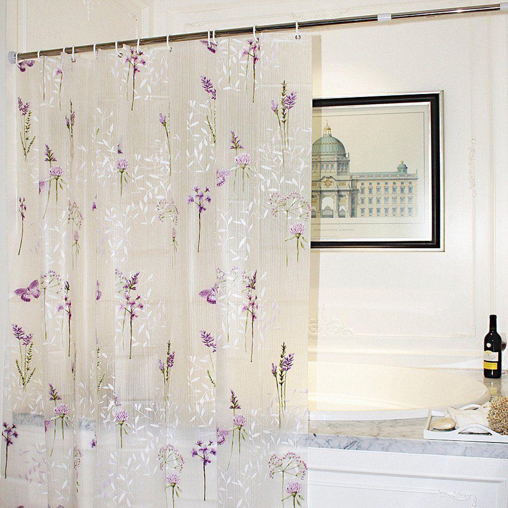 """Shower Curtain 72x72"""" Mildew Resistant WaterRepellent"""