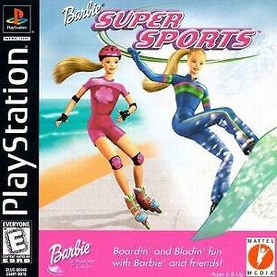 Barbie Super Sports You Two Had This For As A Computer Game When