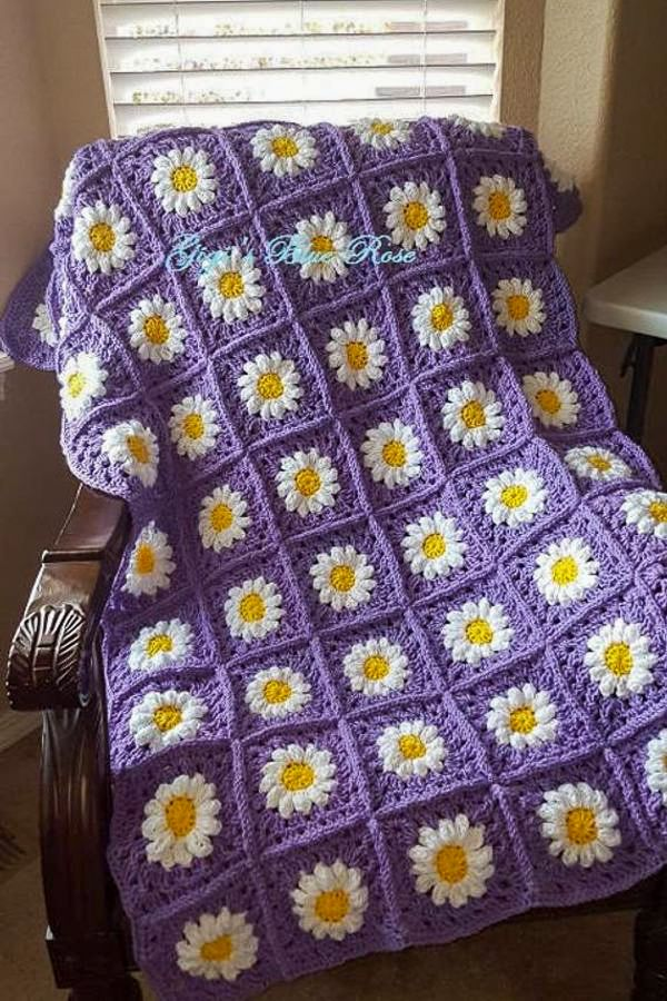 48+ Free and Quick and easy Crochet Blanket Pattern Ideas Part 7