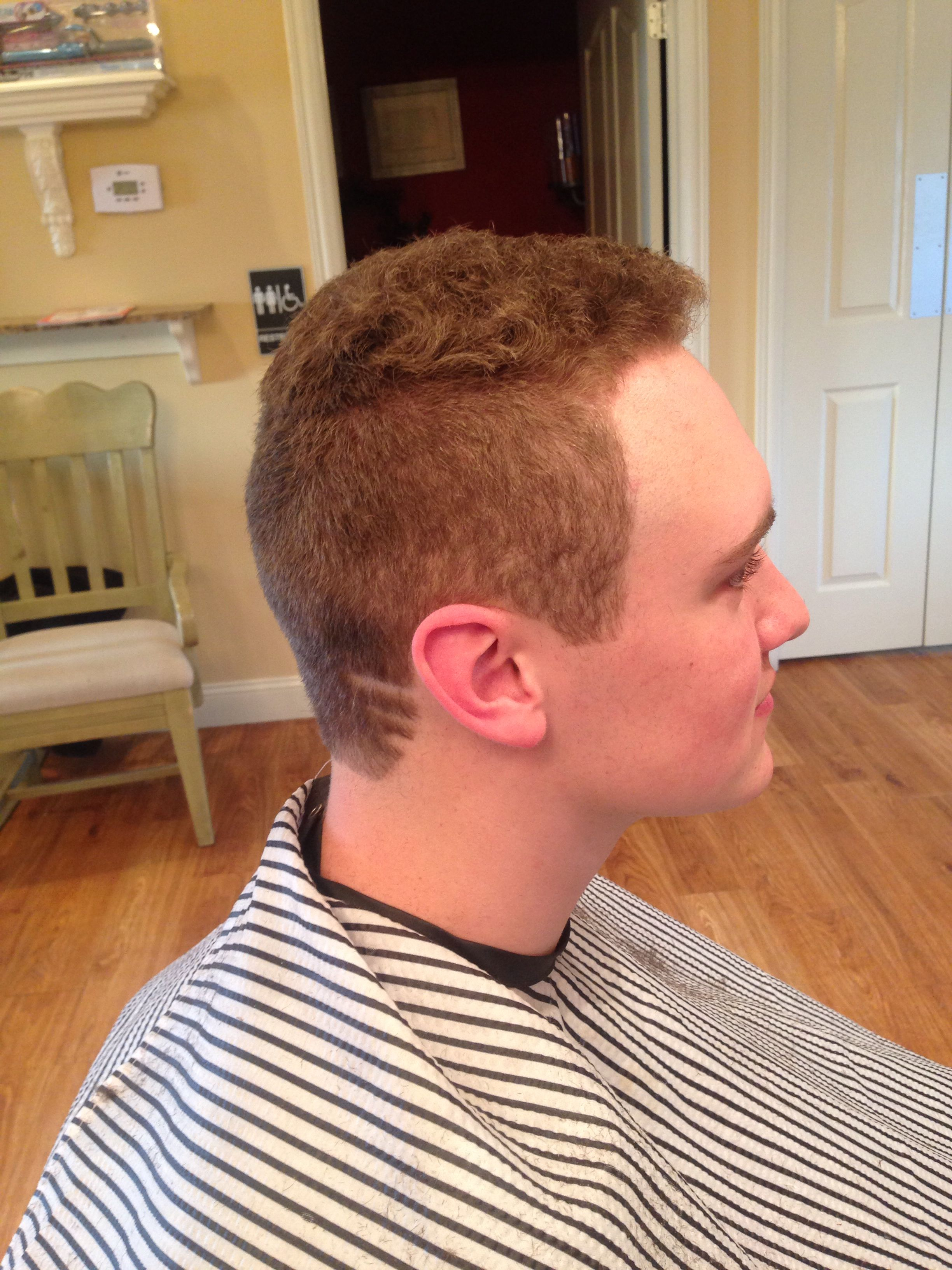 Mens Haircut With Lines My Work Pinterest Haircuts