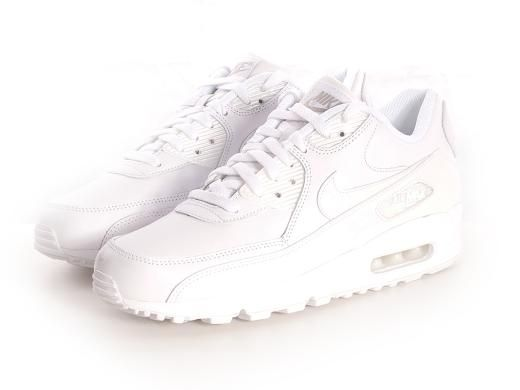 c567c8ac35 Nike Air Max 90 Full Leather - Triple White - £66.50 - Jeans and Street  Fashion from Jeanstore