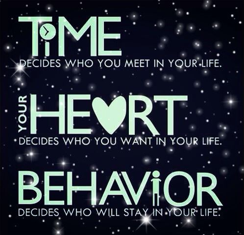 Image result for time decides who you meet in your life
