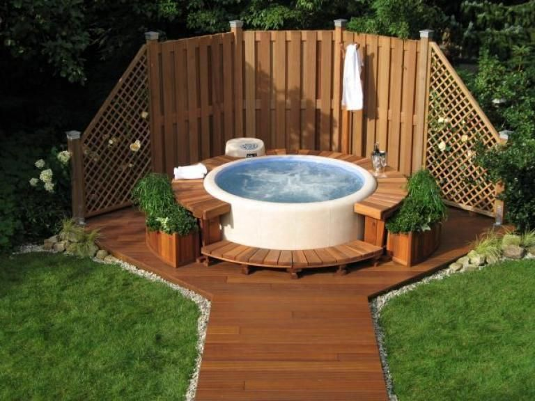 Incredible Outdoor Jacuzzi Design Ideas Page 4 Of 16 Hot Tub Outdoor Hot Tub Backyard Hot Tub Designs