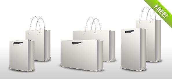 Download Psd Shopping Bag Set Psd Freebies Bag Mockup Bag Set