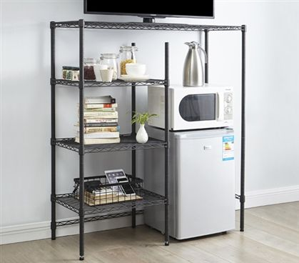 the shelf supreme adjustable shelving gunmetal gray future rh pinterest com shelves for fridge doors shelves for fridge door