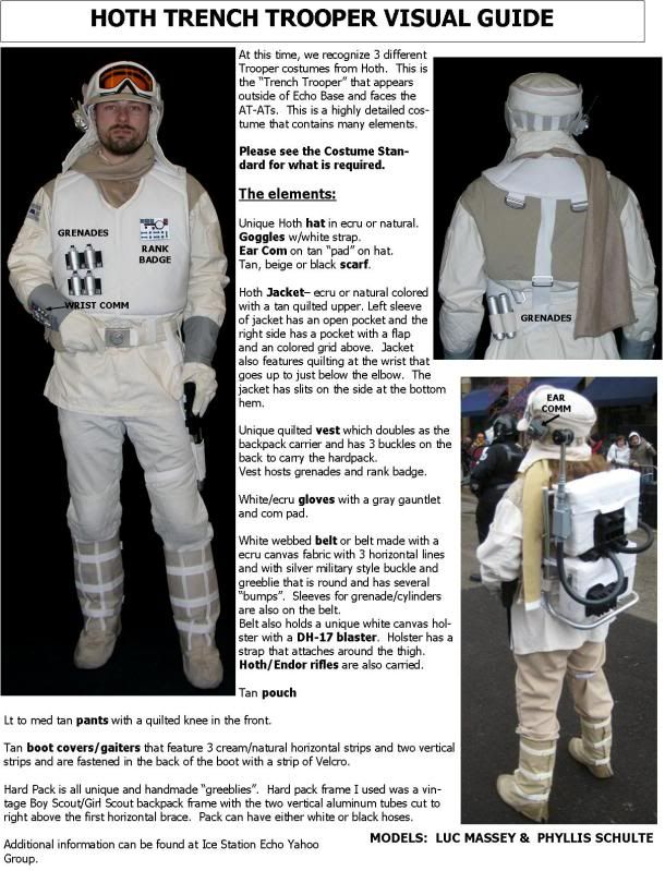 Star Wars ESB Luke Hoth Rebel Soldier Trooper Uniform Costume Cosplay Jacket#6