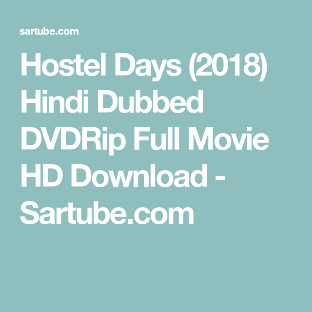 Watch Hostel Days Full-Movie Streaming