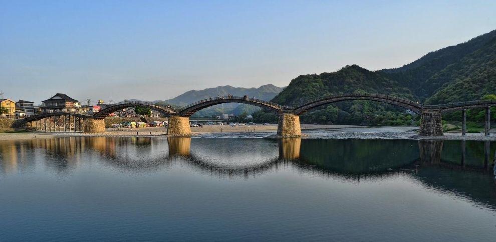 Puente Kintai, Iwakuni, Prefectura de Yamaguchi, Japón | 33 puentes impresionantes que tienes que cruzar en tu vida
