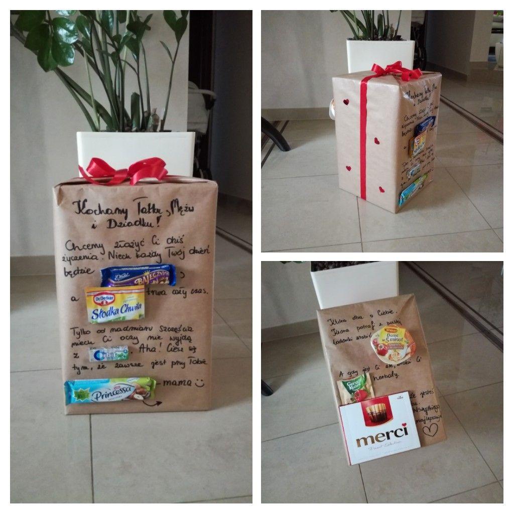 Prezent Dla Taty Prezent Na Urodziny Pakowanie Prezentow With