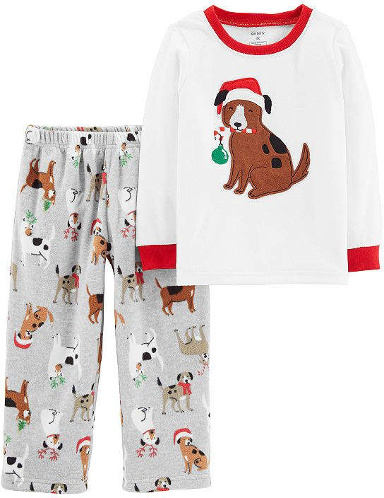 75c002dc7bc4 Carter s 2-Pc. Holiday Pjs - Toddler 2-pc. Pant Pajama Set Girls ...