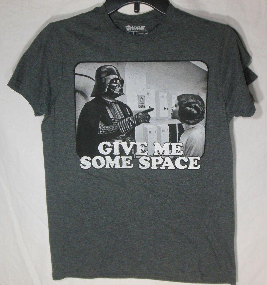 Space T Shirts Ideas Spaceshirts Spacetshirts Star Wars Meme New Men S Small T Shirt Graphic Tee Nwt Tags Star Wars Tshirt Leia Star Wars Star Wars Shirts