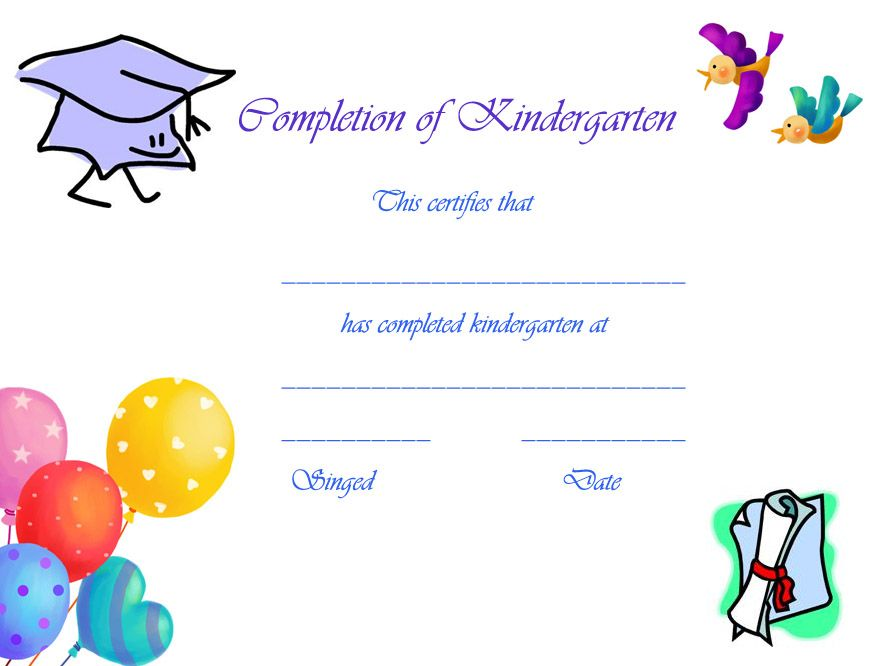 preschool graduation certificates free printables graduations