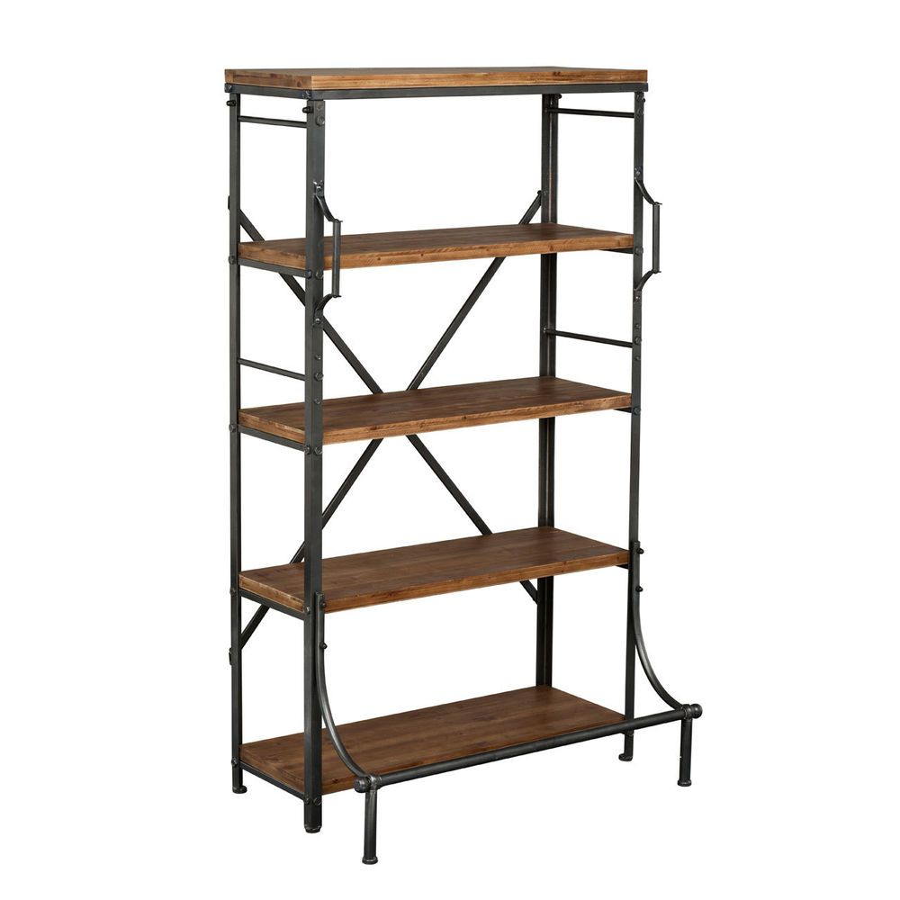 Industrial Kitchen Shelving: New Foundry 5 Tier Metal Shelf Unit Storage Solutions