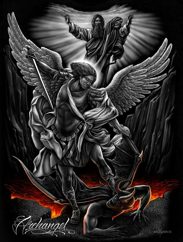 Archangel Tattoo, St Michael Tattoo, Archangels