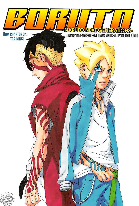Read Boruto Chapter 34 Mangafreak Boruto Naruto Next Generations Uzumaki Boruto Anime Naruto