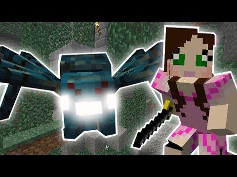 Minecraft: THE MUTANT SPIDER CAVE MISSION! - Custom Mod