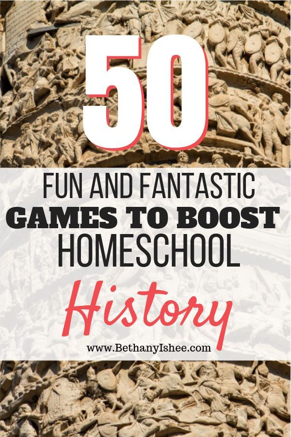 Who knew history can be so fun It can be when you add games to you homeschool history studies From ancient history to modern times there is a game that will bring history...
